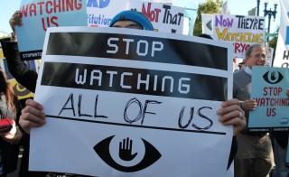 March Against NSA Mass Surveillance