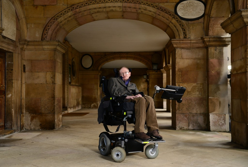 "Theoretical physicist Stephen Hawking, who is famous for his work in studying black holes, announced last week ""there are no black holes."" But what did he mean by that? Photo by Karwai Tang."