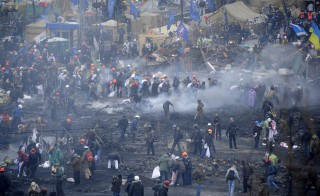 At least 22 people have been killed in the latest day of violent clashes in Kiev, Ukraine.