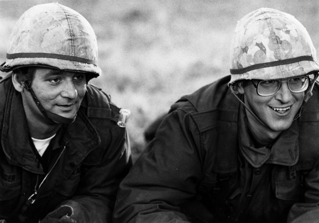 Actors Bill Murray and Harold Ramis star in the film 'Stripes' in 1981. Photo by Michael Ochs Archives/Getty Images