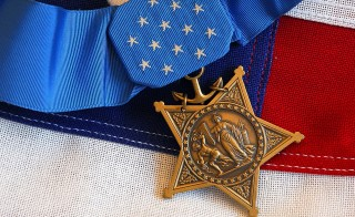 Photo of Medal of Honor by Mass Communication Specialist 1st Class Brandan W. Schulze/U.S. Navy