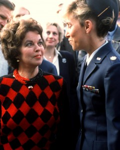 U.S. Ambassador to Czechoslovakia Shirley Temple Black in October 1990. Photo by U.S. Air Force
