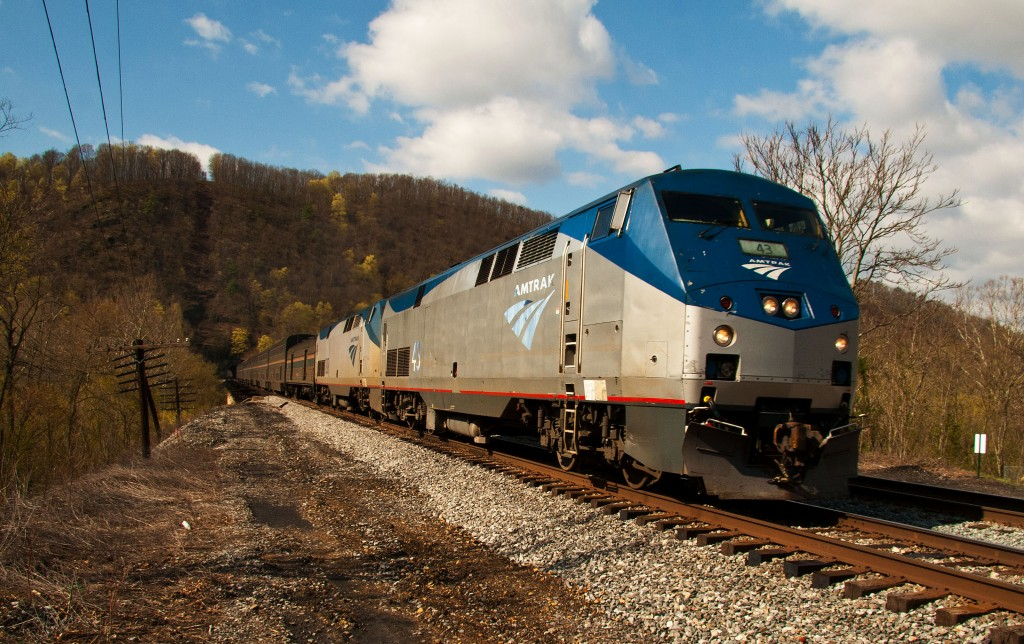 Answering to writer Alexander Chee's twitter pleas, Amtrak has launched a still-unstructured writers residency program. Photo by Flickr user jpmueller99