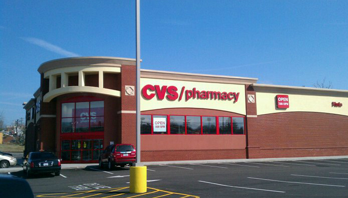 CVS Caremark will stop selling tobacco products in all of its CVS/pharmacy stores this year. Photo by Wikimedia Commons user Calmon1
