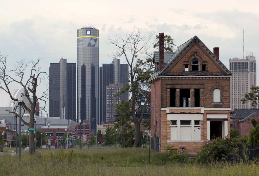 Detroit filed its bankruptcy exit plan in federal court Friday.