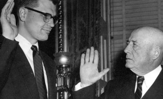 Rep. John Dingell, D-Mich., the longest-serving congressman in U.S. history was first elected in 1955.