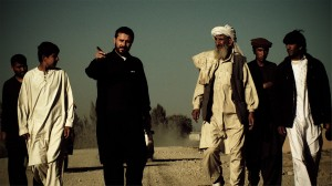 Jeremy Scahill in Afghanistan. Photo by Richard Rowley