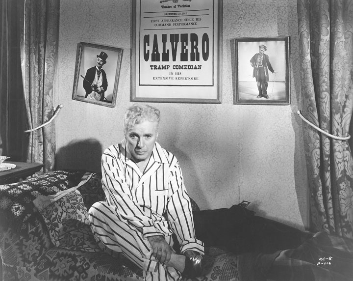 "Promotional still from Charlie Chaplin's 1952 film ""Limelight"""