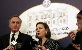 Victoria Nuland's alleged explicit comments about the EU's involvement in Ukraine has caused controversy. Photo by Greece's Ministry of Foreign Affairs on Flickr