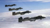 Pentagon proposed retiring decades-old aircraft programs, including the A-10 Warthog, a close air support plane. Photo by Kenn Mann/USAF