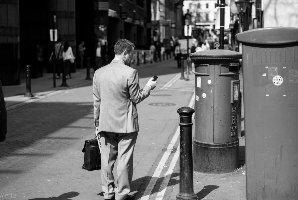 Don't job hunt long distance. If you want a new job in a new place, you've got to pound the pavement of the city where you want to work. Photo by Flickr user Matt E.