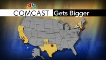 Comcast Time Warner merger map