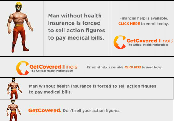 Get Covered Illinois and The Onion are hoping to attract the younger generation with a set of humorous online ads