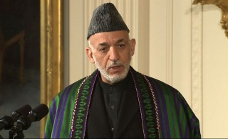 Karzai's refusal to sign the security pact has strained relations with Washington.