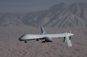 Undated handout image courtesy of the U.S. Air Force shows a MQ-1 Predator unmanned aircraft. Image courtesy of Reuters/Air Force/Lt. Col. Leslie Pratt/Handout