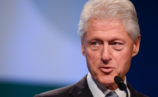 Records to be released today by the Clinton Library are expected to include confidential communications between the former president and his advisers. Photo by Getty Images