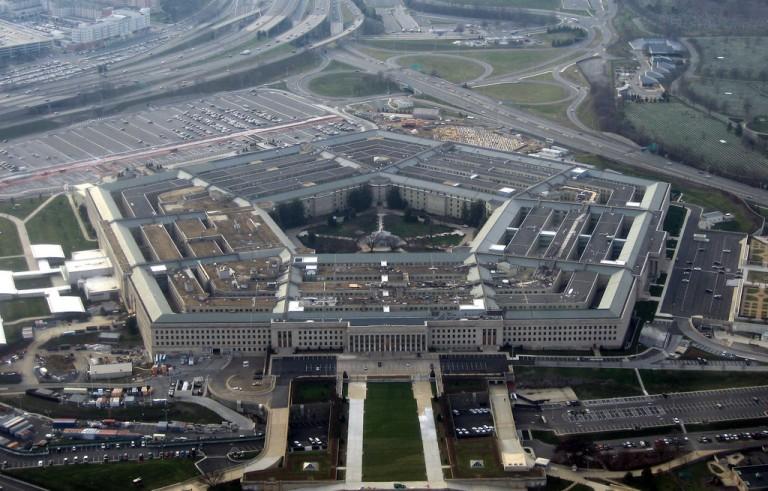 Photo of Pentagon by Wikimedia user David B. Gleason