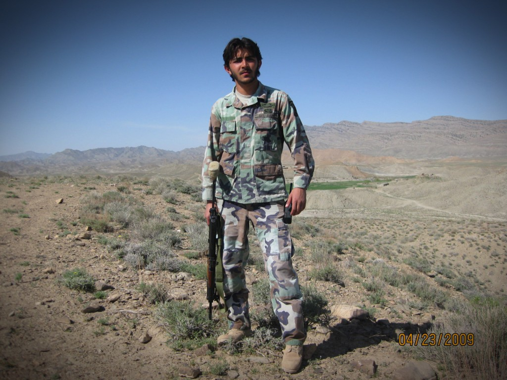 Sardar Khan worked for U.S. forces in Afghanistan as a translator. Now he's being targeted by the Taliban, and he wants out.