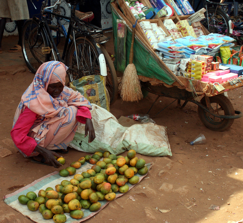 Mangoes for sale at a market in the city of Wao in southern Sudan. Photo by Larisa Epatko