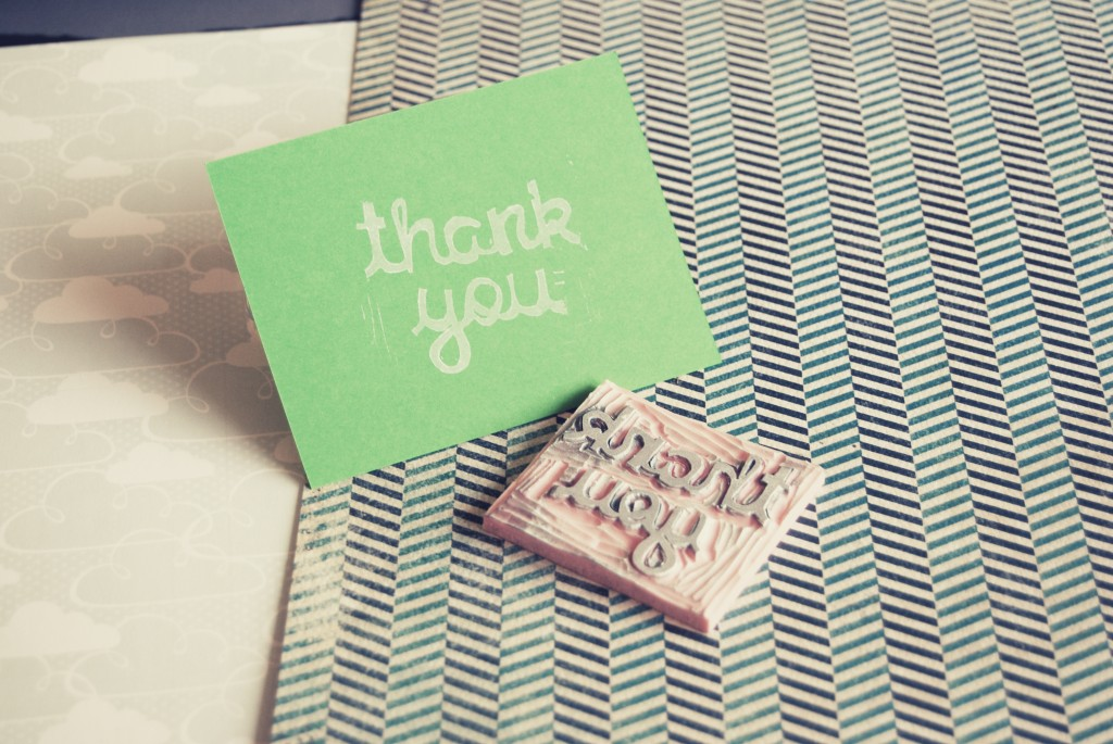 Sending a hand-written thank you note is important, but not enough by itself, says headhunter Nick Corcodilos. Photo by Flickr user happy_serendipity.