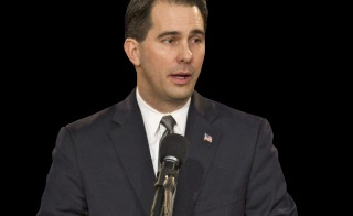 State prosecutors say the 2011 and 2012 campaign of Wisconsin Gov. Scott Walker, seen here in January 2011, broke election laws. Photo by AP/Morry Gash