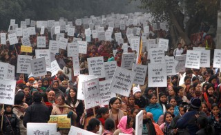 Mahila Suraksha Samman March To Demand Justice For Gangrape Victim