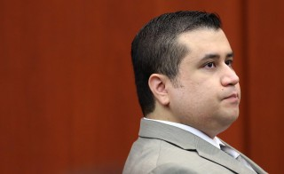 George Zimmerman listens to testimony from forensics animation expert Daniel Shoemaker during his trial in Sanford, Fla. on July 9, 2013. Pool photo by Joe Burbank/Orlando Sentinel/MCT via Getty Images