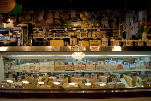 A cheese shop at Pike Place in Seattle. Photo by Flickr user Bari Bookout