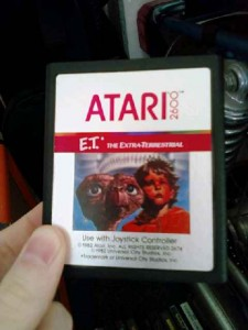 "Companies hope to excavate copies of ""E.T."" the video game that are rumored to have been buried in New Mexico for over three decades. Photo by Flickr user Erik Abderhalden"