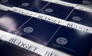 The 2014 U.S. budget. Photo by Win McNamee/Getty Images