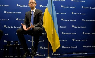 Ukraine interim prime minister Speaks On Ukrainian Crisis In Washington DC