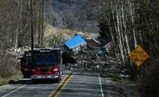 Three Killed, 18 Missing After Major Washington State Mudslide