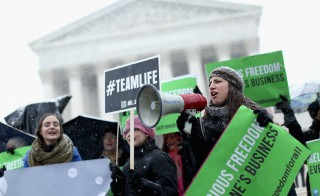 Supreme Court Hears Arguments In Case Challenging Affordable Care Act
