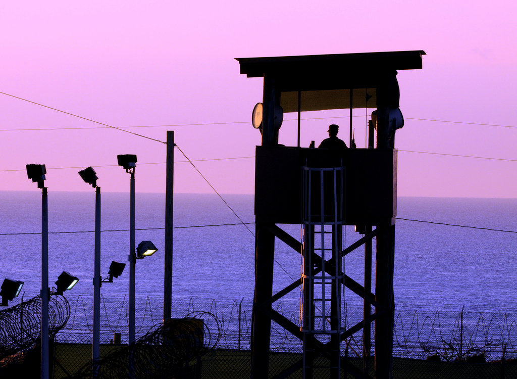 GUANTANAMO BAY, Cuba. Photo by the National Guard.