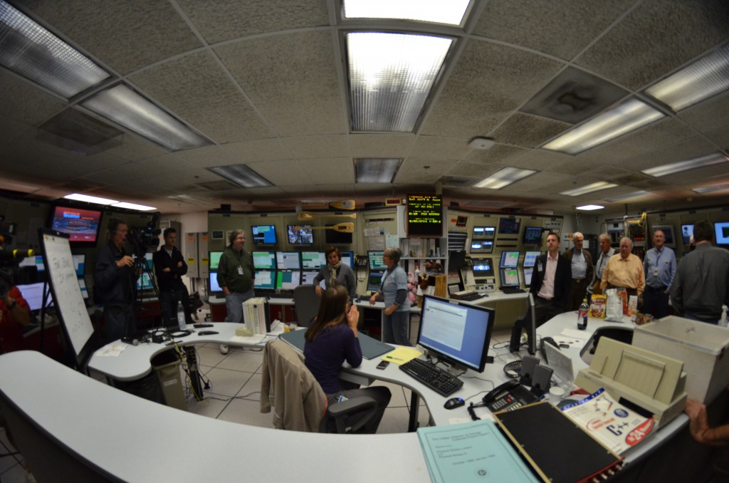 Inside Fermilab's Tevatron facility in 2011. The physics lab has banned Powerpoint presentations. Photo by Flickr user Michael Kappel