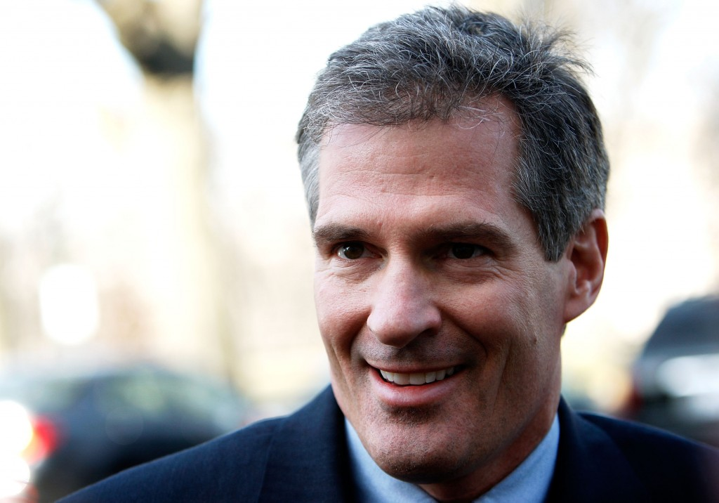 Former Massachusetts Senator Scott Brown. Photo by Alex Wong/Getty Images