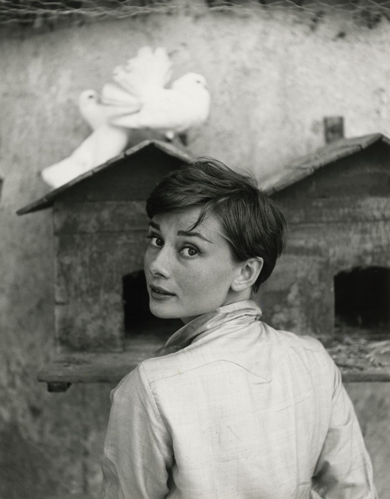 Photo of Audrey Hepburn by Philippe Halsman. Courtesy of National Portrait Gallery