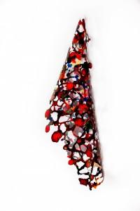 """Growth Cone"" Art by Rebecca Kamen"