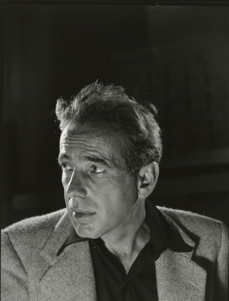 Photo of Humphrey Bogart by Philippe Halsman. Courtesy of National Portrait Gallery.