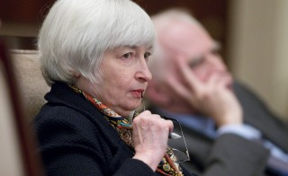 At the Jackson Hole economic conference last week, Janet Yellen said the Fed wasn't ready to raise interest rates any time soon. Photo by Andrew Harrer/Bloomberg via Getty Images