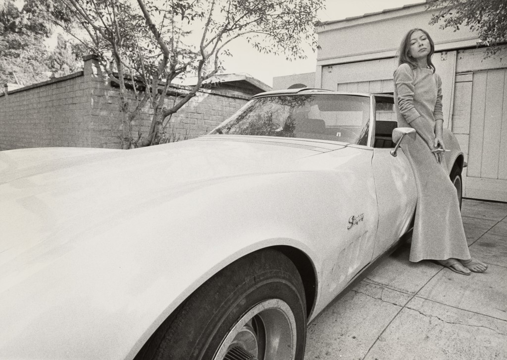 Photo of Joan Didion by Julian Wasser. Courtesy of National Portrait Gallery.