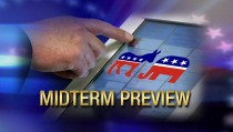 MIDTERM PREVIEW voter party logo
