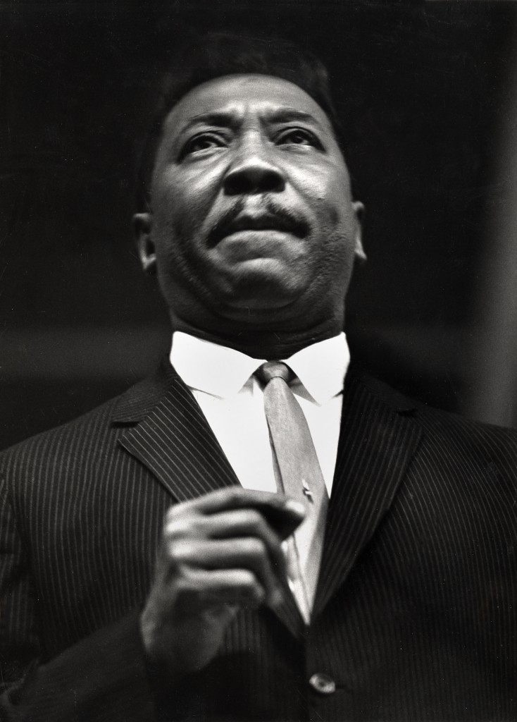 Photo of Muddy Waters by Charles H. Stewart. Courtesy of National Portrait Gallery.