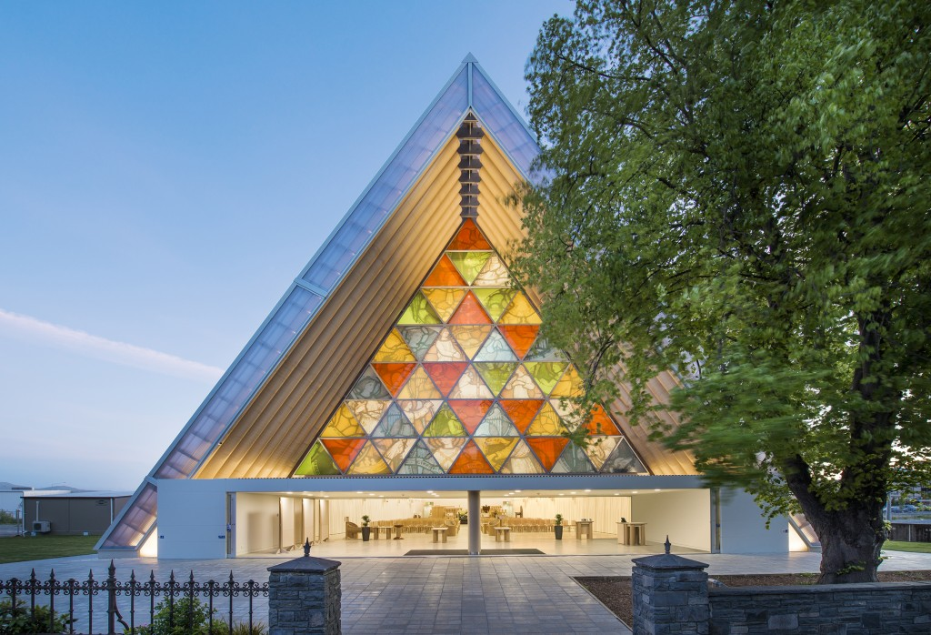 Photo by Stephen Goodenough courtesy of Shigeru Ban Architects