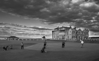 Women currently do not have access to the Royal and Ancient Golf Club of St. Andrews clubhouse, pictured. But a vote this year could change that. Photo by Flickr user Graeme Bird