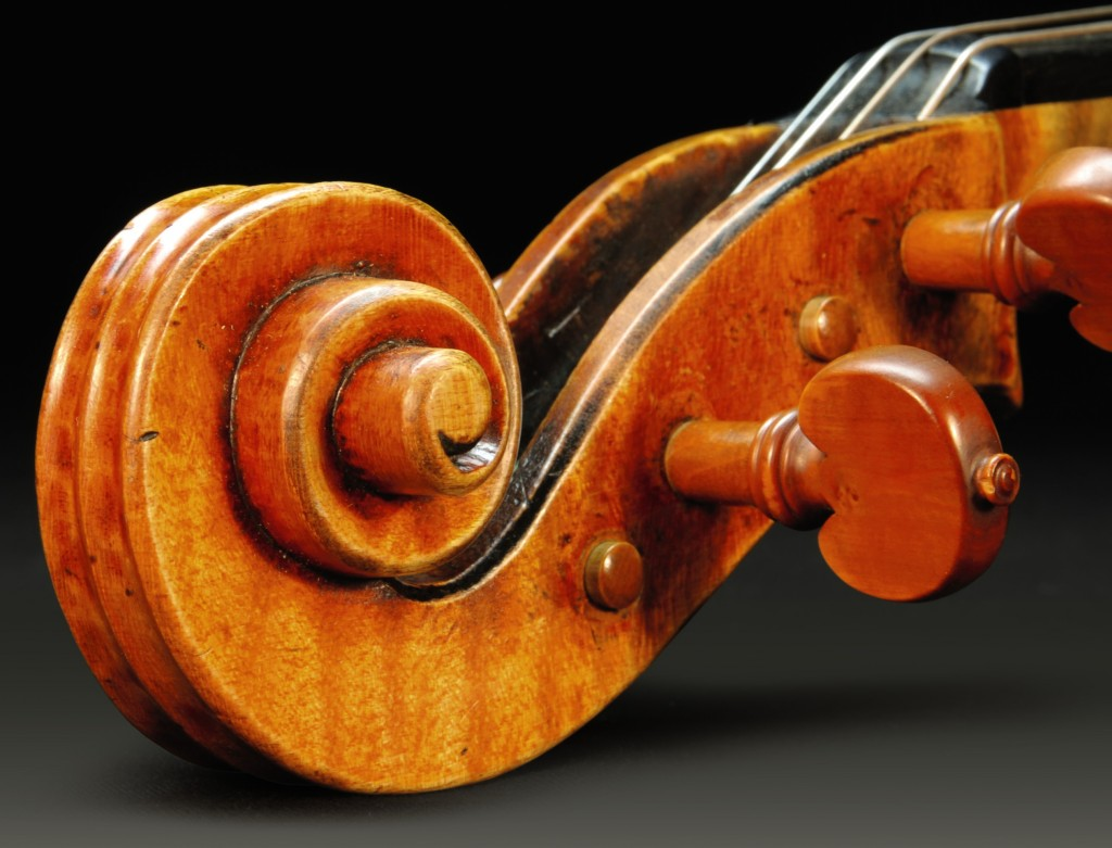 The Stradivari Viola. Photo courtesy of Sotheby's