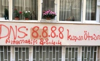 Instagram of alternate DNS address from Turkish Twitter protest