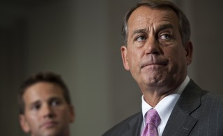 "Speaker of the House John Boehner has charged President Obama with trying to ""erode the power of the legislative branch."" Photo By Bill Clark/Roll Call via Getty Images"