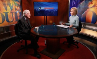 Former President Jimmy Carter sat down with Judy Woodruff Wednesday to discuss Russia's annexation of Crimea, the progress and limitations of working with Israel and his own commitment to fight discrimination and violence against women and girls around the world. Photo by Joshua Barajas/PBS NewsHour