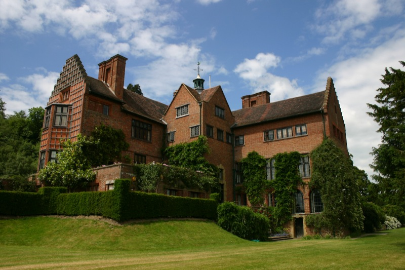 The Churchill family left Chartwell to the National Trust in 1966.  Photo by Flickr user R@PP